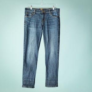 Kut From The Kloth 8 Blue Katy Boyfriend Jeans
